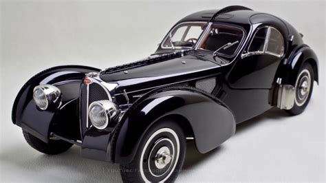 Bugatti Type 57 SC Atlantic - FCaminhaGarage 1/18 - YouTube