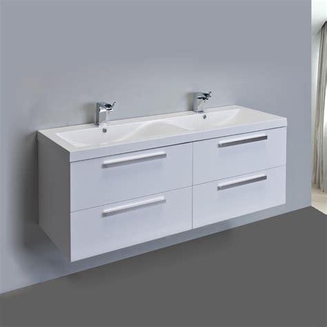 eviva surf  white modern bathroom vanity set
