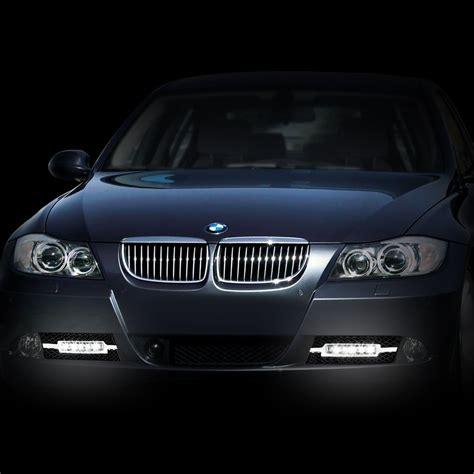 07 08 bmw e90 3 series non m sport sedan led drl fog lights
