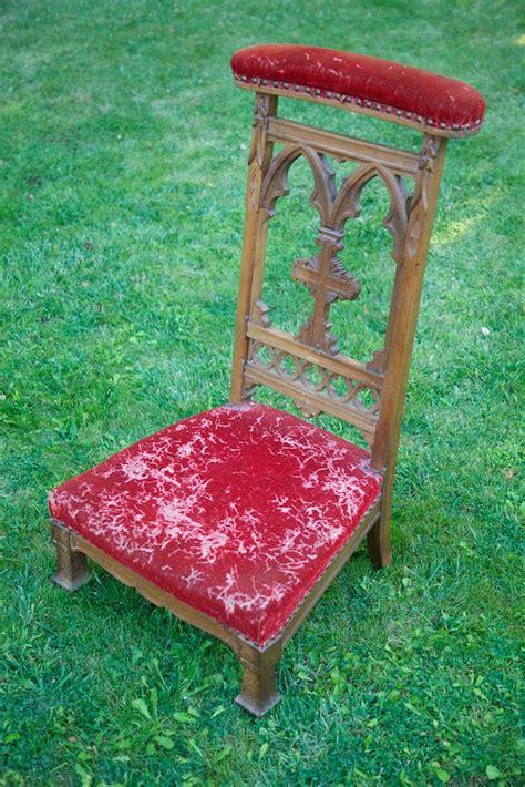 antique prayer chair quot prie dieux quot eclectibull