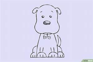 Een stripachtige hond tekenen - wikiHow