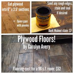 plywood floors i installed in my 8x12 cabin such a cheap