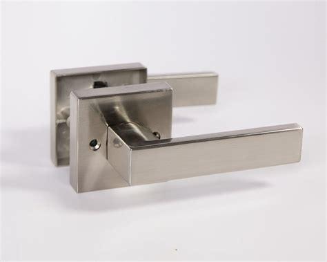modern interior door handles lisbone square door handle lever lock set modern