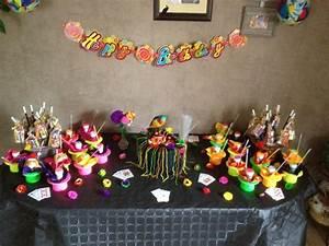 Décoration De Table Anniversaire : d coration gouter anniversaire enfant la table ~ Melissatoandfro.com Idées de Décoration