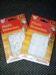 PLASTIC PROTECTORS/DOTS PADS SELF ADHESIVE CABINET BUFFERS