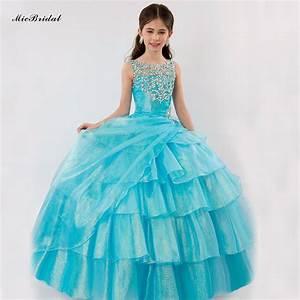 plus size latest beauty junior pageant dresses for little With robe longue pour enfant