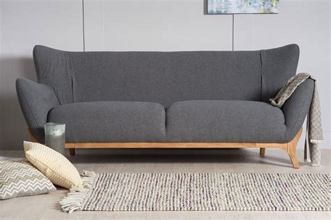 wesley contemporary  seater sofa  natural furniture company