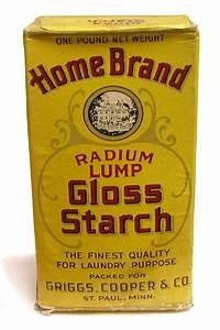 Radium Lump Gloss Starch