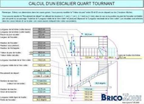 logiciel calcul escalier quart tournant gratuit calcul escalier