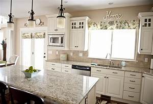 sita montgomery interiors my home tour kitchen With kitchen colors with white cabinets with wall art family
