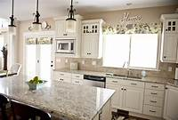 kitchen colors for white cabinets Sita Montgomery Interiors: My Home Tour: Kitchen