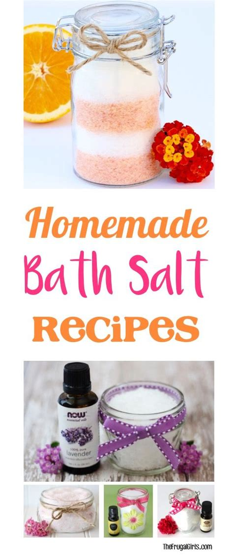 bath salt recipe 105 best images about mothers day gifts on pinterest mason jar gifts sugar scrub recipe and