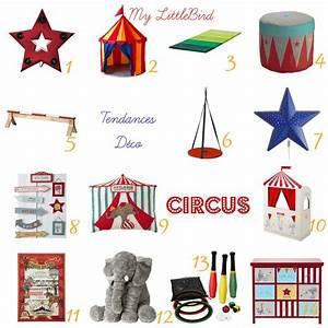 Déco chambre d'enfant - Thème Circus