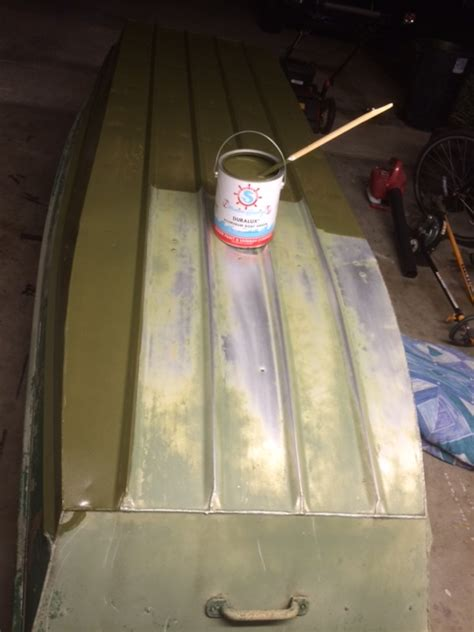 Jon Boat Green Paint by Recommendations For Duck Boat Paint Updated With Pictures