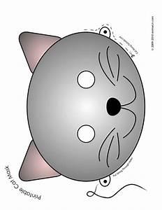 Gray Cat Mask Woo! Jr Kids Activities