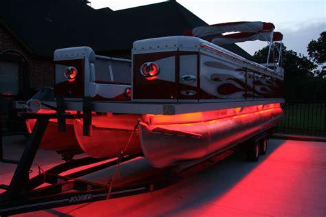 Boat Speakers by Led Lights 13 Speaker Sound System 27ft Pontoon Boat