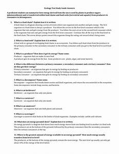 Ecology Study Guide Key