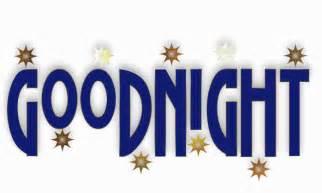 Animated Glitter Good Night
