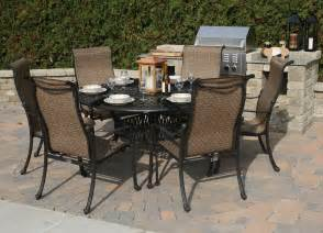 gorgeous outdoor dining sets for 6 cool outdoor dining
