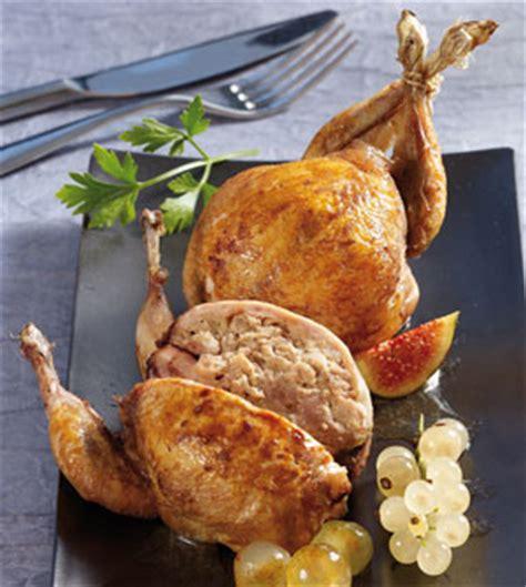 cuisiner des cailles au four 2 cailles farcies farce au foie gras canard surgelé