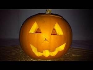 Une Citrouille Pour Halloween : comment faire une citrouille pour halloween youtube ~ Carolinahurricanesstore.com Idées de Décoration