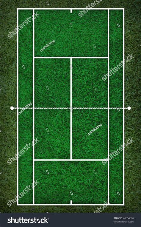 free floor plan layout tennis court floor plan on grass stock illustration
