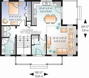 bordure de lac chalet champetre mediterraneen w3519 With plan maison demi etage