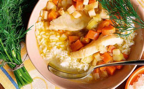 Zivju un dārzeņu zupa — Santa