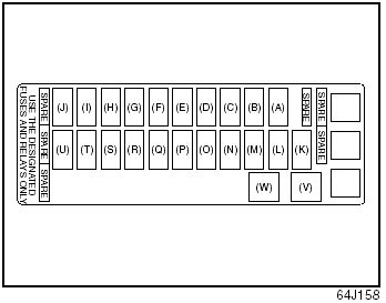 2006 Suzuki Grand Vitara Fuse Box Diagram by Fuses Inspection And Maintenance Suzuki Grand Vitara