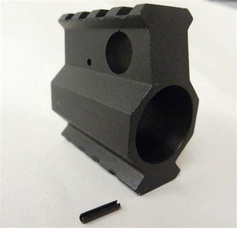 block gas rail height ar10 ar15 upper parts