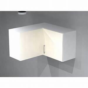 Meuble Cuisine D Angle : meuble haut d 39 angle pour cuisine ~ Dailycaller-alerts.com Idées de Décoration