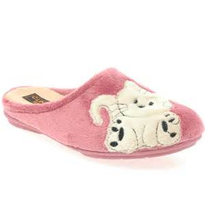 costa cat womens slippers costa from charles clinkard uk