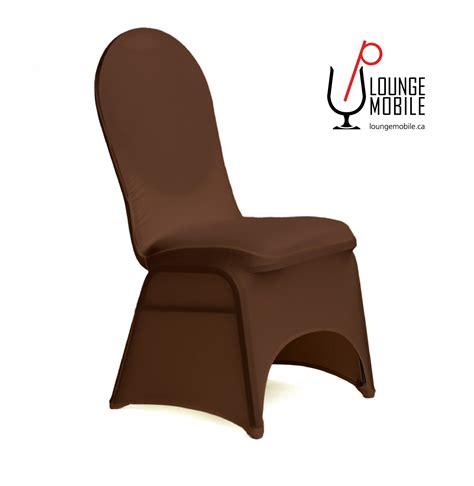 housse de chaise lycra housse de chaise lycra chocolat housses de chaises les