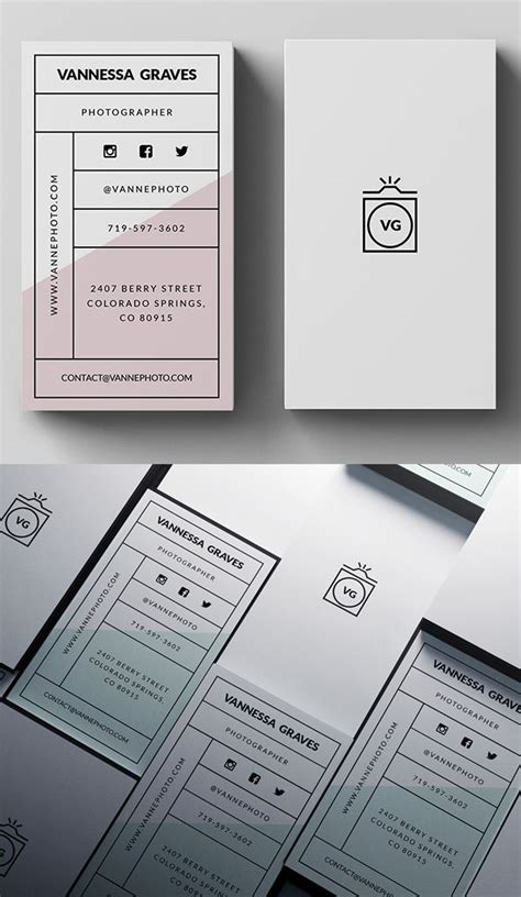 stylish business card psd template businesscards