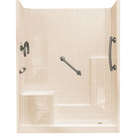3 Shower Kit by Ella 32 In X 60 In X 77 In Freedom Low Threshold 3