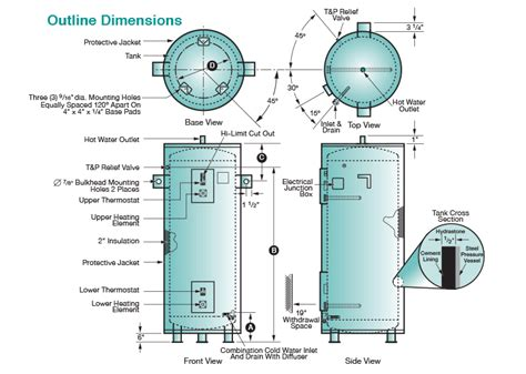 electric hot water heater wiring diagram typical online