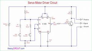 Servo Motor Driver Circuit