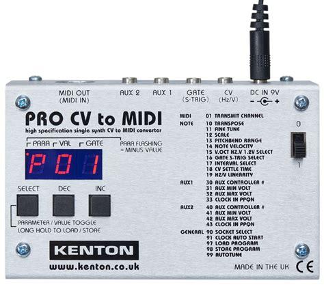 Pro Cv by Kenton Pro Cv To Midi Modular Systems Schneidersladen De