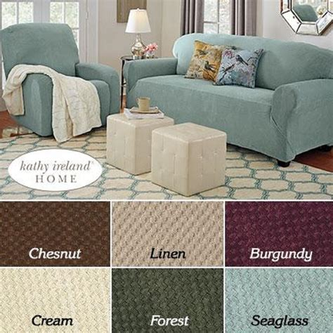 Slipcovers For Loveseat Recliners by Pique Stretch Furniture Slipcover Sofa Loveseat Chair