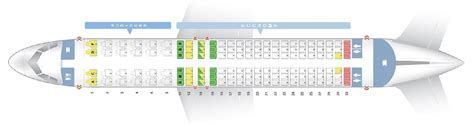 Seat Map and Seating Chart Airbus A320 200 South African