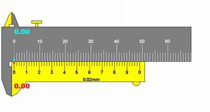 Scale Vernier Caliper Mm Measurement Calculation Parts