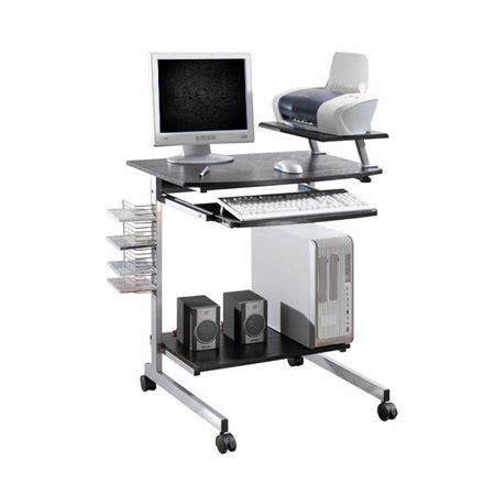 small computer desk walmart ergonomic multifunction mobile compact computer desk
