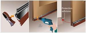 Isolation Bas De Porte D Entrée : poser un bas de porte porte ~ Premium-room.com Idées de Décoration