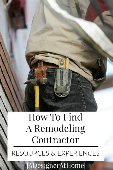 choosing  contractor   bathroom remodel
