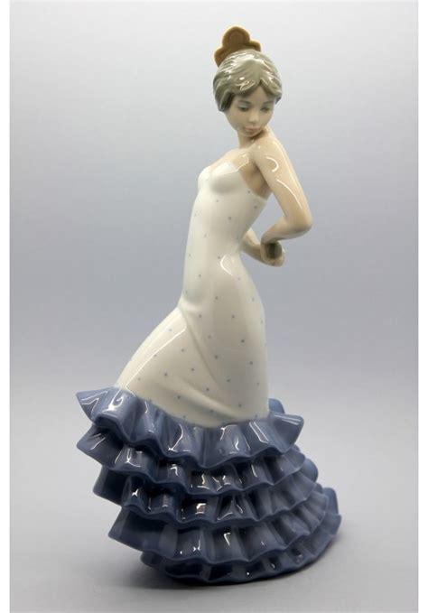 nao porcelain figurine flamenco porcelain figurine