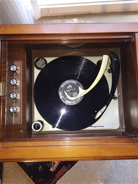 1965 magnavox micromatic console record player collectors weekly