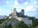 Ruins of Cachtice Castle, Slovakia. Home of Elizabeth ...