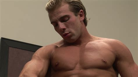 mikhail shows cock by 3x muscles