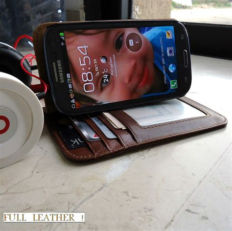 fit samsung galaxy s3 siii s 3 book wallet creditcards luulla