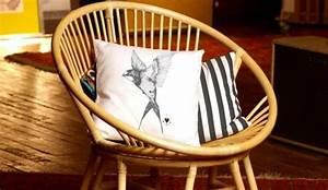 Coussin Fauteuil Rotin : je veux un fauteuil en rotin ~ Preciouscoupons.com Idées de Décoration